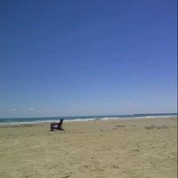 """Photo taken at """"Playa miramar"""" by Jesus C. on 10/17/2014"""