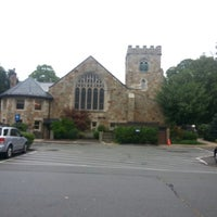 Photo taken at Wellesley Hills Church by Clarke P. on 9/1/2013