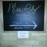 Photo taken at Miss Ruby Boutique by Greg on 4/22/2014