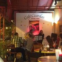 Photo taken at Café Czardas by Luisa J. on 4/21/2013