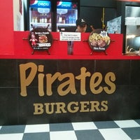 Photo taken at Pirates Burger by Oskie S. on 7/6/2014