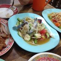 Photo taken at ร้านลูกหิน ส้มตำ อาหารอีสาน by Nationn M. on 2/26/2016