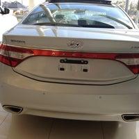 Photo taken at CAOA Hyundai Raposo Tavares by Jane L. on 4/15/2013