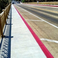 Photo taken at First Avenue Bridge by Scott R. on 7/12/2013