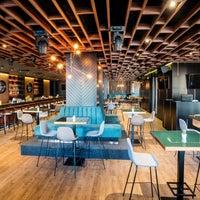 Photo taken at LARGO Bar & Diner by Galina I. on 11/10/2017