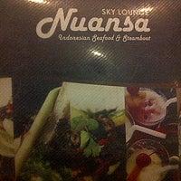 Photo taken at Nuansa Cafe & Sky Lounge by CHandra C. on 7/10/2013
