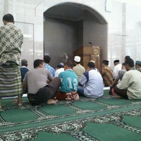 Photo taken at Masjid Al-Maghfirah by achmad f. on 10/1/2012