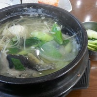 Photo taken at 진주복국 by Inyoung S. on 2/27/2014