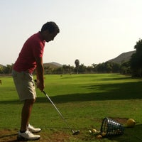 Photo taken at Los Palos Golf Center by Jaime A. on 4/22/2013