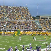 Photo taken at Floyd Casey Stadium by Brent . on 10/13/2012