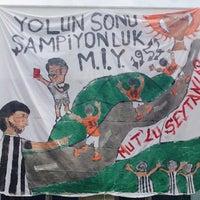 Photo taken at Mut İlçe Stadyumu by Hasan Feyyaz on 4/8/2018