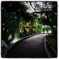 Photo taken at Городской парк культуры и отдыха им. М. Горького by Diana S. on 7/19/2013