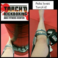 Photo taken at Torched Kickboxing and Fitness Center by Jennifer C. on 9/4/2015