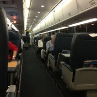 Photo taken at Amtrak Acela 2173 by Jeremy J. on 7/23/2013