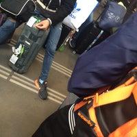 Photo taken at Paris Montparnasse Railway Station by friend on 3/27/2016