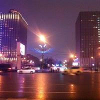 Photo taken at Смоленская-Сенная площадь by Артём А. on 2/10/2013