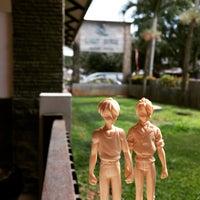 Photo taken at Laut Biru Resort Hotel by Irsan S. on 1/30/2015