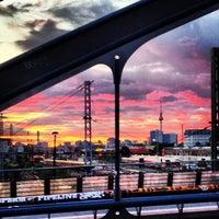 Photo taken at Modersohnbrücke by Sven H. on 9/27/2013