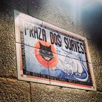 Photo taken at Praza dos Suaves by Héctor M. on 1/23/2014