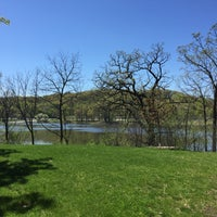 Photo taken at Normandale Lake Park by Kristin A. on 4/29/2016