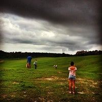 Photo taken at Dye Fore Golf Course by Philip S. on 9/17/2013