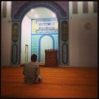 Photo taken at Masjid Baitul Musthafa by Adhitya H. on 7/12/2013
