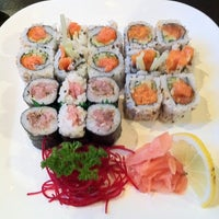 Photo taken at Sushi House by Rick S. on 10/9/2012