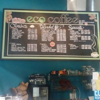 Photo taken at Eco Coffee House by Corla P. on 6/13/2016
