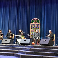 Photo taken at Petroshimi Concert Hall by TAHA A. on 1/26/2018