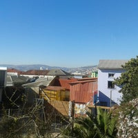 Photo taken at PataPata Hostel by Valeria A. on 7/13/2013