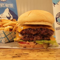 Photo taken at Elevation Burger by Chris P. on 11/15/2013