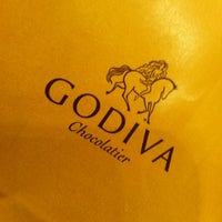 Photo taken at Godiva Chocolatier by Debbie on 1/26/2013