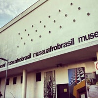 Photo taken at Museu Afrobrasil by Georgia V. on 9/22/2013