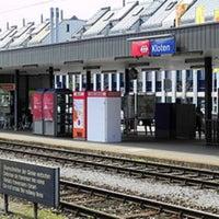 Photo taken at Bahnhof Kloten by Peter G. on 9/23/2016