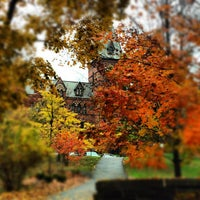 Photo taken at Sage Hall by Ian P. on 10/24/2012