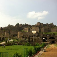 Photo taken at Golconda Fort by yeasix on 10/7/2012