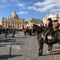 Photo taken at Vatican City by Yeliz D. on 1/17/2018