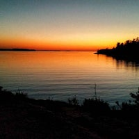 Photo taken at Killbear Provincial Park by Will P. on 10/12/2015