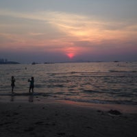 Photo taken at Pattaya Beach Front by parisa a. on 2/4/2016