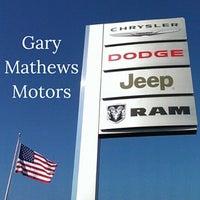 Photo taken at Gary Mathews Motors by Gary Mathews Motors on 7/29/2016