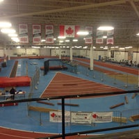 Photo taken at Toronto Track & Field Center by Shermaine W. on 1/24/2015