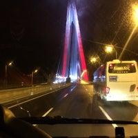 1/22/2017 tarihinde Fatih K.ziyaretçi tarafından Yavuz Sultan Selim Köprüsü'de çekilen fotoğraf