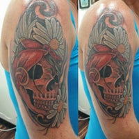 Photo taken at Freedom Tattoo, Inc. by Tim B. on 9/10/2015