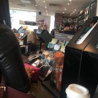 Photo taken at Starbucks by Golboo M. on 2/13/2017