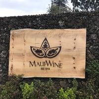 Photo taken at Maui's Winery by Jeremy J. on 2/2/2017