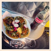 Photo taken at Mi Grullense Taco Truck by Jorge O. on 5/22/2013