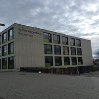 Photo taken at Walter Klingelbeck Realschule by Elif Berra N. on 10/6/2015