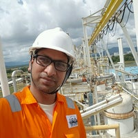 Photo taken at Petronas Petrochemical Integrated Complex by Jay P. on 2/6/2017