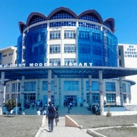 Photo taken at Kenyatta University Post Modern Library by Cephas N. on 2/22/2013