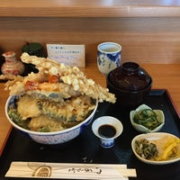 Photo taken at 天丼屋 平右衛門 by yasu f. on 11/11/2016